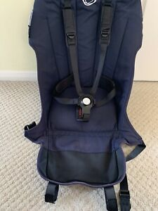 Bugaboo Buffalo & Runner Navy Seat Fabric New Style Harness Replacement