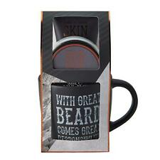 Men's Beard Grooming / Pampering Gift Set - Mug / Beard Balm