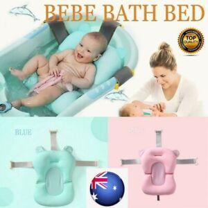 ❤️Baby Bath Pad Tub Pillow Air Cushion Floating Soft Seat Infant born Anti-slip