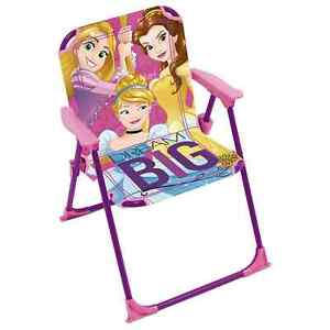 Disney Princess Kids Comfortable Chair With Safety Lock For Indoor & Outdoor