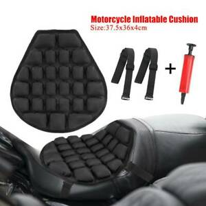 Motorcycle 3D Seat Cushion Pad Saddle Non-slip Comfort Cover Stress Reliever AU