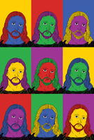 Jesus Christ Pop Art Poster 12x18 inch
