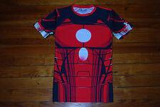 Men's Under Armour Marvel Ironman Compression Shirt (Large) Alter Ego