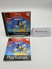 DISNEY FRÜHES LERNEN MIT MICKY SONY PLAYSTATION 1 PS1 SPIEL PS 1 SEHR GUT