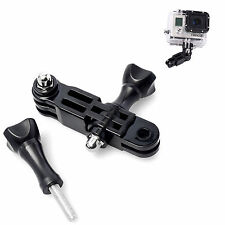 Arm of pivot adjustable three-way to Gopro HD Hero 3, 3 + Silver Edition