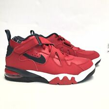 NIKE AIR FORCE MAX CB LEATHER SHOES Men Size 10 Charles Barkley CJ0144 600 NEW