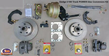 "1954-1960 DODGE C100 FRONT POWER DISC BRAKE KIT - 11.75"" Standard Rotors"