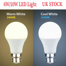 10W/6W LED (60W/100W) BC B22 GLS Lamp Light Bulbs Warm / Cool Day White Bright