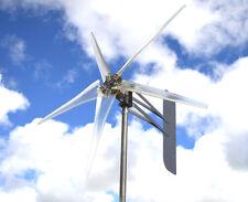 "Wind Mill Turbine 5 blade CLEAR prop 12 VOLT AC 3-WIRE 14 MAG 74"" KT DTA"