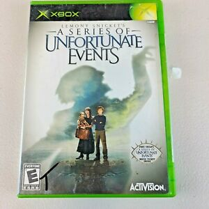 Lemony Snicket's A Series of Unfortunate Events (Microsoft Xbox) Complete Tested