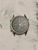 Seiko 7T32-7B30 Stainless Steel Silver Tone Chronograph/Alarm Men's Watch (Case)