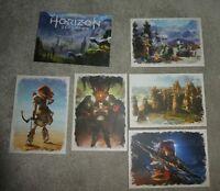 Horizon Zero Dawn art card promo  PlayStation ps4 New postcards sony