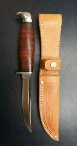 Case XX USA 3FINN SSP Knife With Sheath Hunter 1965-69