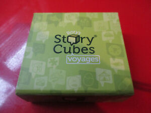 Rory's Story Cubes Voyages Game in Box 9 Cubes