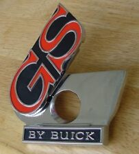 NEW 1969 GS By Buick Trunk Lock cover assembly 69 Skylark GS emblem BUA52