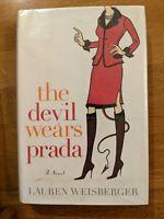The Devil Wears Prada Lauren Weisberger 2003 HCDJ FIRST ED. 1st Printing exlibr