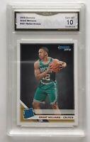 Grant Williams 2019-20 Donruss Rated Rookie Base #221 RC - Boston Celtics GMA 10