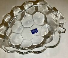 "Studio Nova Grape Shaped Small Glass Candy Dish, 5.5"" X 4"""