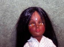 """VINTAGE 11"""" EFFANBEE DOLL 1976 MISS INDIA STORYBOOK DOLL OLD HTF"""