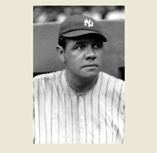 1922 Babe Ruth PHOTO New York Yankees Portrait,Polo Grounds,World Series Team