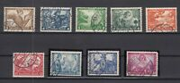 G3305/ GERMANY REICH – WAGNER – MI # 499 / 507 COMPLETE USED – CV 420 $