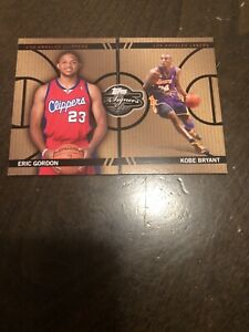 2008-09 Topps Co-Signers Kobe Bryant Eric Gordon Face The Facts 89/399 Rare