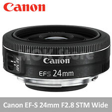 CANON EF-S 24mm F2.8 STM Wide Angle Digital Mirrorless Camera Lens