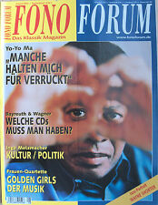 Fono Forum 8/03 REVOX m51, Sony RDR-GX 7, R. Trekel, Idil Biret, Ingo Metz realizzatori
