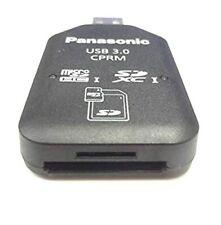 Panasonic SD/SDHC/SDXC/microSD/microSDHC card USB 3.0 reader writer BN-SDCMP3