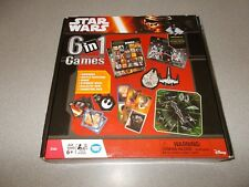 Wonder Forge Disney Star Wars 6 in 1 games set 6 year and up 2 to 4 player new