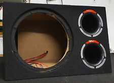 "VIBE SLICK CBR 12"" bass enclosure empty box only no subwoofer"