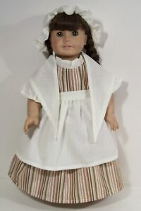 """Generic Felicity Colonial Work Dress Doll Clothes For 18"""" American Girl (Debs*)"""
