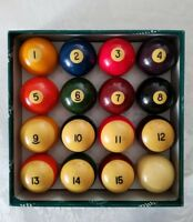 ARAMITH PREMIER POOL BALLS BY SALUC BELGIAN BILLIARD BALLS