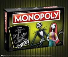 USAopoly Nightmare Before Christmas 25th Anniversary Edition Monopoly NEW SEALED