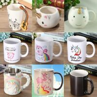8 Pattern Funny Novelty Unicorn Mug Coffee Milk Tea Cup Home Office Xmas Gift