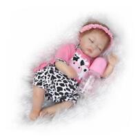 """16"""" 40cm Reborn Baby Boy Doll Realistic Lifelike Soft Silicone Newborn Dolls"""