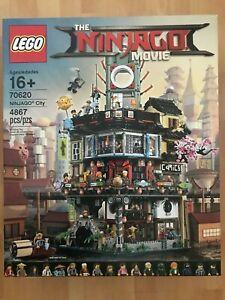 LEGO THE LEGO NINJAGO MOVIE 70620 NINJAGO City NISB New & Sealed