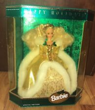 Barbie Doll Happy Holidays Special Edition 1994 Sealed NRFB