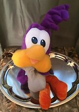 Warner Bros Looney Tunes Plush Posable Baby Road Runner Six Flags Souvenir