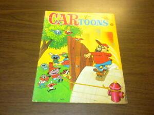CARTOONS magazine 1965 April - Petersen Publishing - HOT ROD RACING CAR TOONS