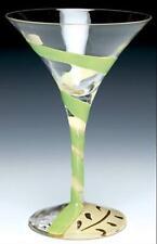 Lolita The Martini Collection Appletini Martini Glass Retired New