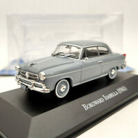 IXO Borgward Isabella 1961 1/43 Diecast Models Limited Edition Collection