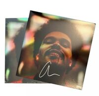 The Weeknd Signed Autograph Autographed After Hours Holographic Vinyl Record LP