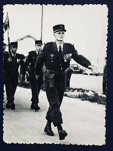LEGION ETRANGERE 2° REP ALGERIE 1957   COL LEFORT CDT BRANDON CAP LEFORT