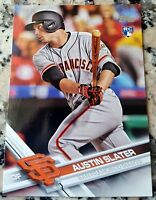 AUSTIN SLATER 2017 Topps Rookie Card RC Logo LOT San Francisco Giants $$ HOT $$