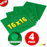 "LOT of 4 NEW GENUINE LEGO Green Color Building Base Plate 5""x 5"" 16x16 Stud Dots"