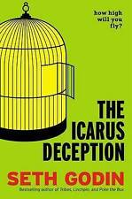 LIKE NEW The Icarus Deception By Seth Godin Hardcover HC Book Free Postage in AU