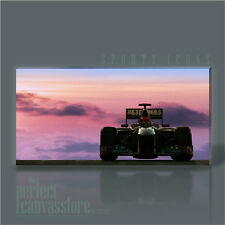 MICHAEL SCHUMACHER SUNSET GIANT ICONIC FORMULA 1 PREMIUM CANVAS ART Art Williams