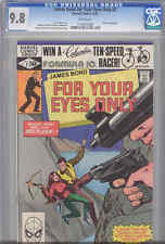 For Your Eyes Only #2 CGC 9.8 1981 James Bond Marvel Movie Comic