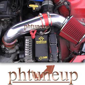 RED 1995-2000 CHRYSLER CIRRUS DODGE STRATUS 2.0 2.0L 2.4 2.4L AIR INTAKE KIT